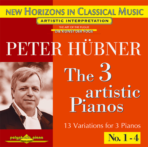 Peter Hübner - The 3 Artistic Pianos - Var. 1 – 3