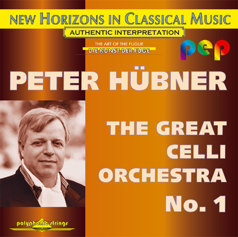 Peter Hübner - The Great Celli Orchestra - Celli Orchestra No. 1