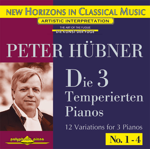 Peter Hübner - The 3 Temp. Pianos - Var. 1 – 4