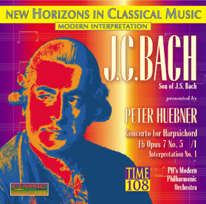 Peter Hübner - presents J.C. Bach - No. 1
