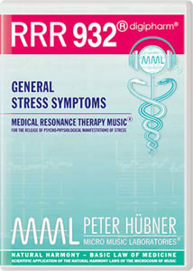 Peter Huebner - Medical Resonance Therapy Music(R) RRR 932 General Stress Symptoms