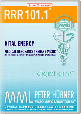 Peter Huebner - Medical Resonance Therapy Music(R) RRR 101 Vital Energy • No. 1