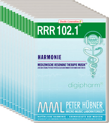 Peter Hübner - Medizinische Resonanz Therapie Musik(R) RRR 102 Harmonie • Nr.1-12