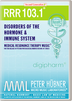 Peter Huebner - Medical Resonance Therapy Music(R) RRR 103 Disorders of the Hormone & Immune System • No. 1