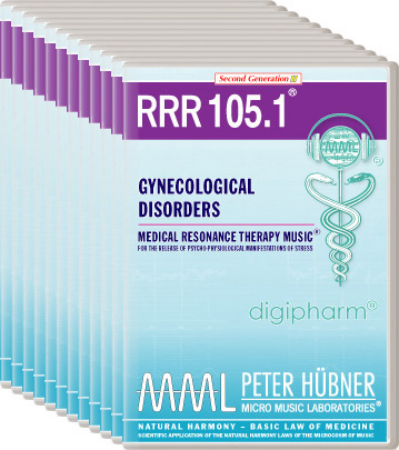 Peter Hübner - Medical Resonance Therapy Music(R) RRR 105 Gynecological Disorders • No. 1-12