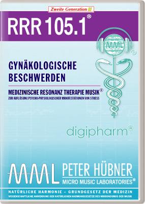 Peter Hübner - Medizinische Resonanz Therapie Musik(R) RRR 105 Gynäkologische Beschwerden • Nr.1
