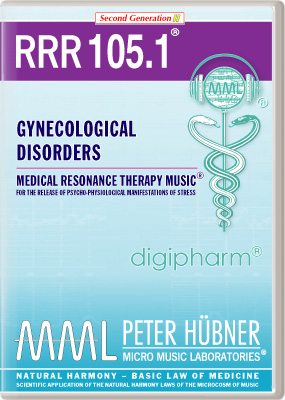 Peter Huebner - Medical Resonance Therapy Music(R) RRR 105 Gynecological Disorders • No. 1