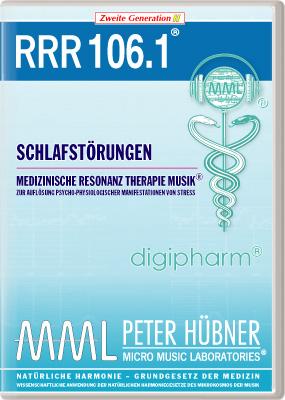 Peter Hübner - Medizinische Resonanz Therapie Musik(R) RRR 106 Schlafstörungen • Nr.1