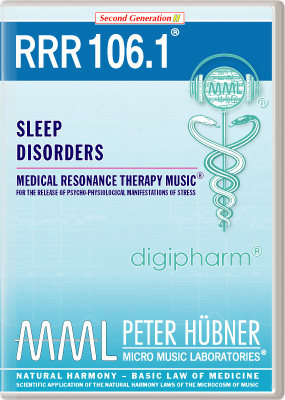 Peter Huebner - Medical Resonance Therapy Music(R) RRR 106 Sleep Disorders • No. 1