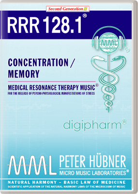 Peter Huebner - Medical Resonance Therapy Music(R) RRR 128 Concentration / Memory • No. 1