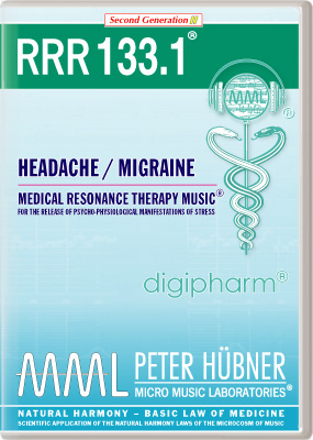 Peter Huebner - Medical Resonance Therapy Music(R) RRR 133 Headache / Migraine • No. 1