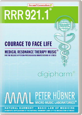 Peter Huebner - Medical Resonance Therapy Music(R) RRR 921 Courage to Face Life • No. 1