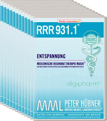 Peter Hübner - Medizinische Resonanz Therapie Musik(R) RRR 931 Entspannung • Nr.1-12