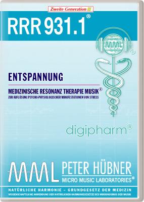 Peter Hübner - Medizinische Resonanz Therapie Musik(R) RRR 931 Entspannung • Nr.1
