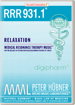 Peter Huebner - Medical Resonance Therapy Music(R) RRR 931 Relaxation • No. 1