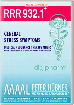 Peter Huebner - Medical Resonance Therapy Music(R) RRR 932 General Stress Symptoms • No. 1