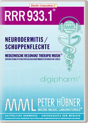 Peter Hübner - Medizinische Resonanz Therapie Musik(R) RRR 933 Neurodermitis / Psoriasis • Nr.1