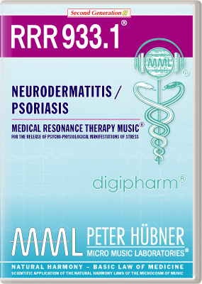 Peter Huebner - Medical Resonance Therapy Music(R) RRR 933 Neurodermatitis / Psoriasis • No. 1