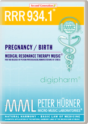 Peter Huebner - Medical Resonance Therapy Music(R) RRR 934 Pregnancy & Birth • No. 1