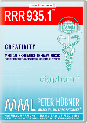Peter Huebner - Medical Resonance Therapy Music(R) RRR 935 Creativity • No. 1