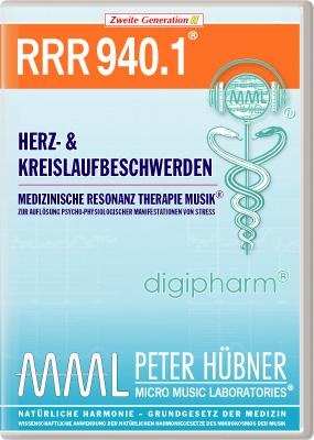 Peter Hübner - Medizinische Resonanz Therapie Musik(R) RRR 940 Herz- und Kreislaufstörungen • Nr.1