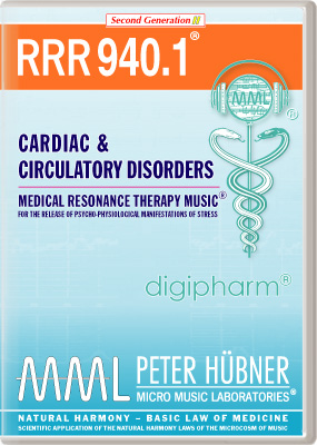 Peter Huebner - Medical Resonance Therapy Music(R) RRR 940 Cardiac & Circulatory Disorders • No. 1