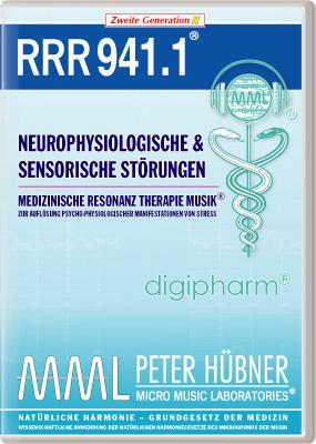 Peter Hübner - Medizinische Resonanz Therapie Musik(R) RRR 941 Neurophysiologische & sensorische Störungen • Nr.1