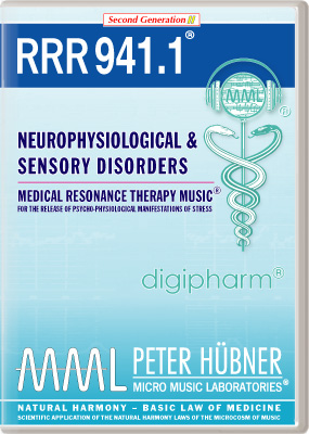 Peter Huebner - Medical Resonance Therapy Music(R) RRR 941 Neurophysiological & Sensory Disorders • No. 1