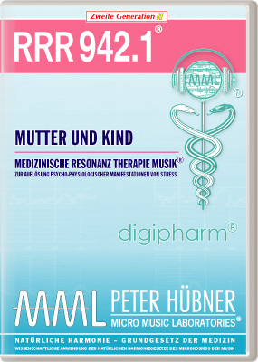 Peter Hübner - Medizinische Resonanz Therapie Musik(R) RRR 942 Mutter & Kind • Nr.1
