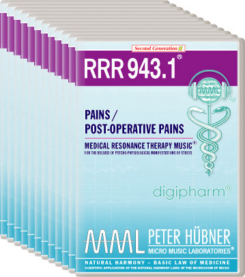 Peter Hübner - Medical Resonance Therapy Music(R) RRR 943 Pains / Post-Operative Pains • No. 1-12