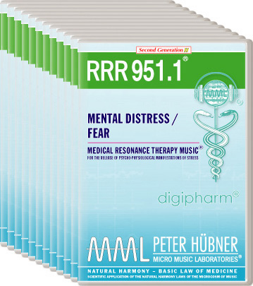Peter Hübner - Medical Resonance Therapy Music(R) RRR 951 Mental Distress / Fear • No. 1-12