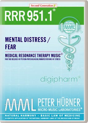 Peter Huebner - Medical Resonance Therapy Music(R) RRR 951 Mental Distress / Fear • No. 1