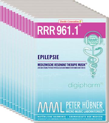 Peter Hübner - Medizinische Resonanz Therapie Musik(R) RRR 961 Epilepsie • Nr.1-12