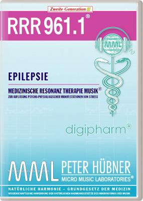 Peter Hübner - Medizinische Resonanz Therapie Musik(R) RRR 961 Epilepsie • Nr.1