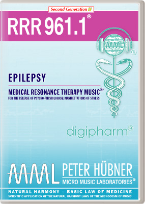 Peter Huebner - Medical Resonance Therapy Music(R) RRR 961 Epilepsy • No. 1